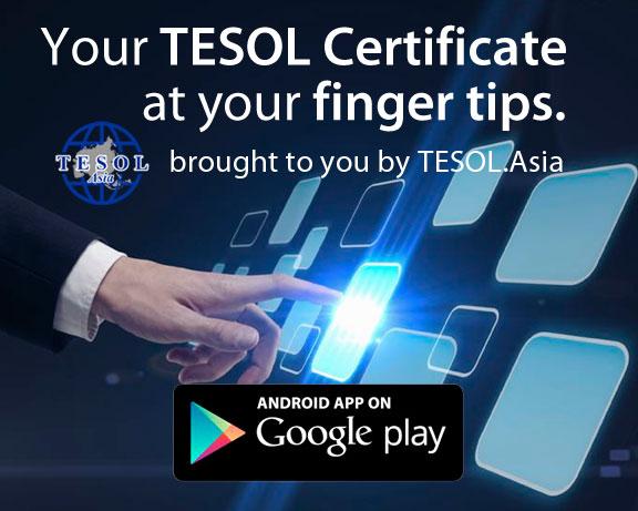 TESOL Certification App